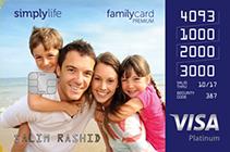 Simplylife Family Credit Card Premium