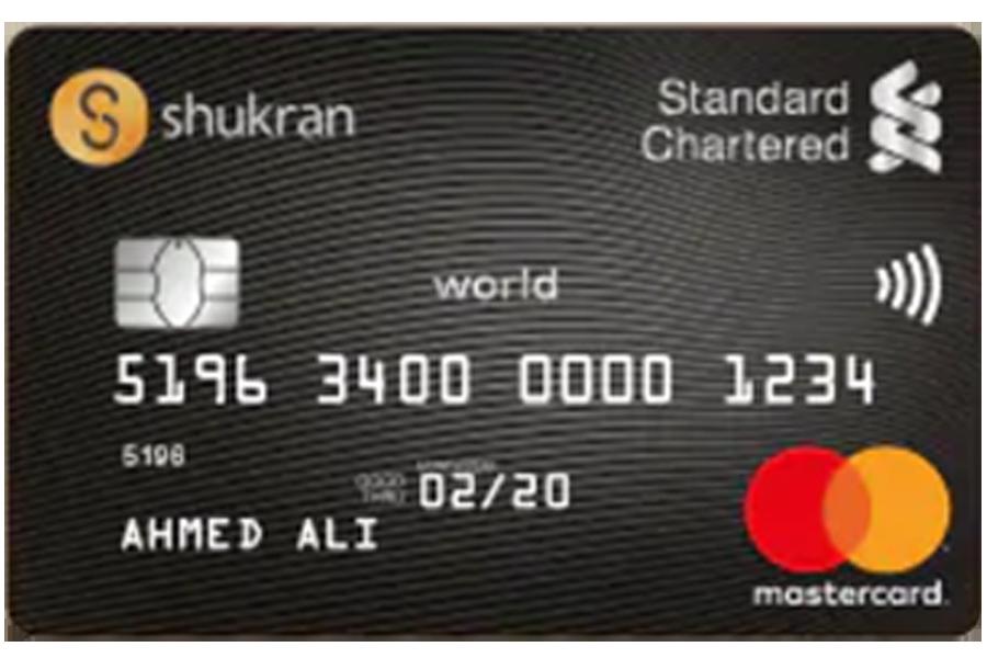 Standard Chartered Shukran World Credit Card