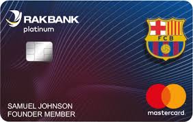 RAKBANK FC Barcelona Credit Card