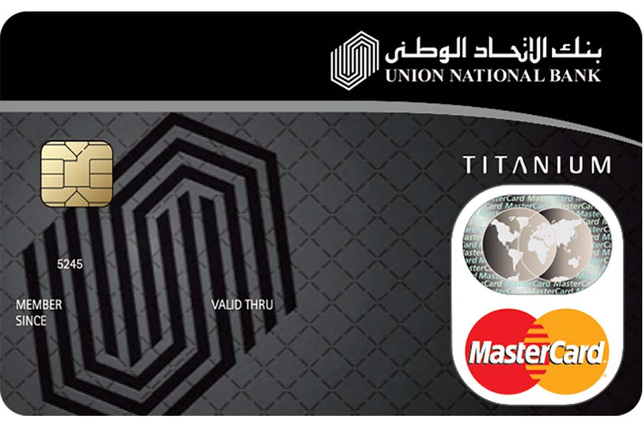 Union National Bank Titanium Card