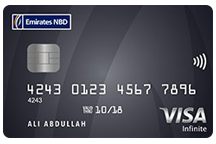 Emirates NBD Visa Infinite Credit Card
