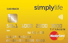 Simplylife Cashback Credit Card