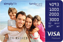 Simplylife Family Credit Card