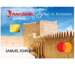 RAKBANK My Ras Al Khaimah Platinum Credit Card