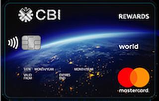 CBI Rewards World Mastercard