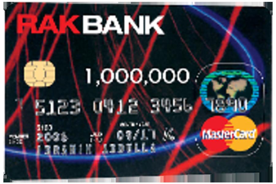 RAKBANK Mastercard Credit Card