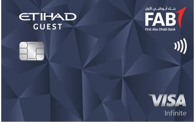FAB Etihad Guest Infinite Credit Card