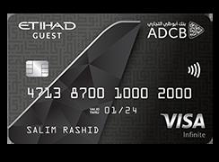 ADCB Etihad Guest Infinite Credit Card