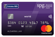 Emirates NBD Starwood Preferred Guest World Credit Card