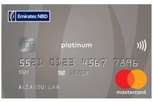 Emirates NBD MasterCard Platinum Credit Card