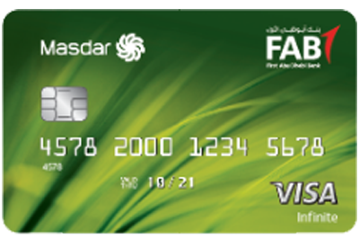 FAB Masdar Infinite Credit Card
