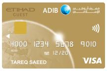 ADIB Etihad Gold Card