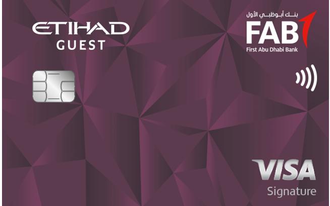 FAB Etihad Guest Signature Credit Card