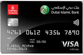 Dubai Islamic Emirates Skywards Infinite Credit Card