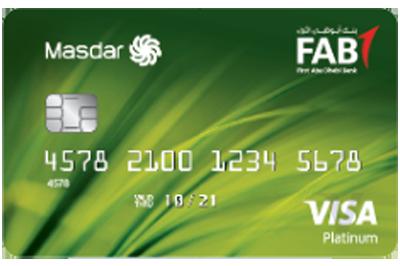 FAB Masdar Platinum Credit Card